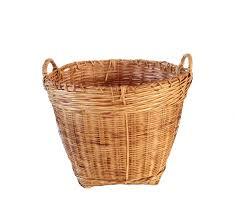 manchette cache pot xl tissé corbeille rotin bambou pot avec anses grand panier