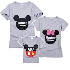aliexpress buy 100 cotton family matching clothes grey