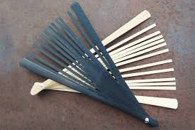 fan sticks bamboo wood diy fan sticks