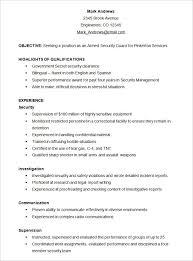 Security Clearance On Resume E Resume Hitecauto Us