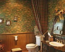 brilliant country style bathroom design ideas with plaid shower