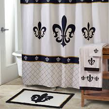Fleur De Lis Shower Curtains Avanti Luxembourg Bath Collection