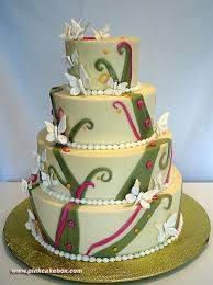 Butterfly Orchid Wedding Cake Spring Wedding Cakes