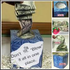 great graduation gifts diy kleenex graduation gift money box couponing