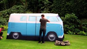 volkswagen van hippie for sale vw t1 camper van tent set up youtube