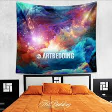 Home Decor Stars Galaxy Tapestry Cosmos Series Nebula With Stars Wall Tapestry