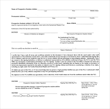 College National Letter Of Intent Sle National Letter Of Intent 7 Free Documents In Pdf Word