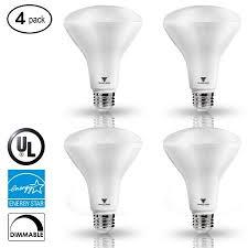 65 Watt Dimmable Led Flood Light Triangle Bulbs Led Bulbs Pack Of 4 8 Watt 65 Watt Br30 Led