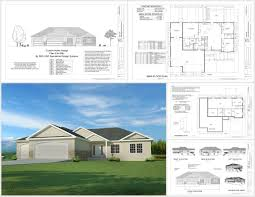 free house blueprints download this weeks free house plan h194 1668 sq ft 3 bdm 2 bath