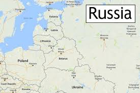russia map border countries britain sends hundreds of soldiers and tanks to russian border in