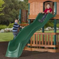 brookhaven wooden swing set playset backyard discovery