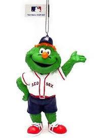 boston sox wally the mascot ornament