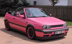 volkswagen pink my 95 vw cabrio rebecca bishop pink rides pinterest