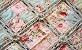 cotton yarn crochet and fabric quilt u2013 pretty shabby u2013 quilting cubby