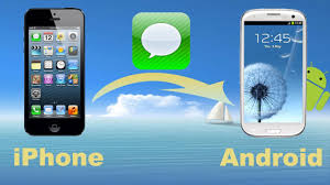 how to transfer apps from iphone to android iphone sms to android transfer sync data or copy sms messages
