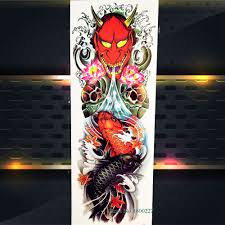 new school water tattoo buy punk style tattoos and get free shipping on aliexpress com