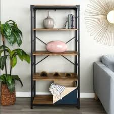 Weathered Bookcase Weathered Bookshelves U0026 Bookcases Shop The Best Deals For Nov