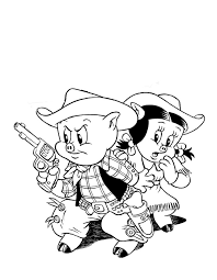 30 best coloring pages looney toons images on pinterest draw