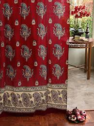 Turquoise Paisley Curtains Bohemian Curtains Moroccan Curtains India Curtains Exotic