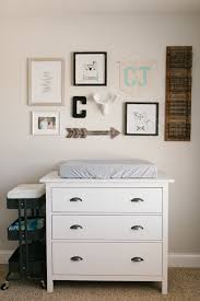Ikea Wall Changing Table Caleb S Rustic Neutral Nursery Reveal Sobremesa Stories