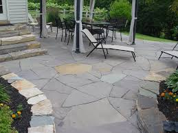 Flagstone Patio On Concrete by How To Install Flagstone Landscaping Network