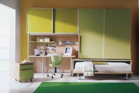Boys Bedroom Paint Ideas by Bedroom Childrens Bedroom Wiith Blue Furniture And Orange Wall