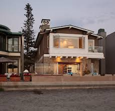 transitional house style transitional beach house beach style exterior san diego by