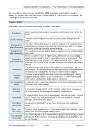 gcse revision planner template revision search results teachit geography 1 preview