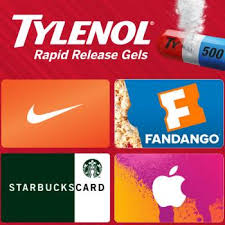 free gift cards from rapid release starbucks nike itunes