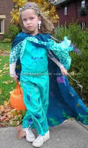 Seahorse Halloween Costume Keeping Mermaid Warm