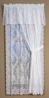 curtains d stunning lace balloon curtains trousseau lace balloon