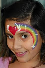 best 25 rainbow face paint ideas on pinterest facepaint ideas