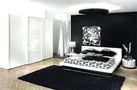 chambre noir et blanc design deco noir et blanc chambre chambre blanc et noir on decoration d