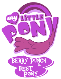 Little Berry Fanart Mlp My Little Pony Logo Berry Punch By Jamescorck On