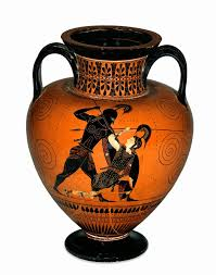 Clay Vase Painting British Museum Amphora