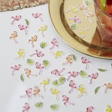 party confetti table party confetti flamingo