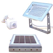 solar powered led flood lights guardian 580x 84led 3 lighting modes waterproof outdoor automatic