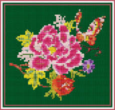 free and for purchase rose themed cross stitch patterns