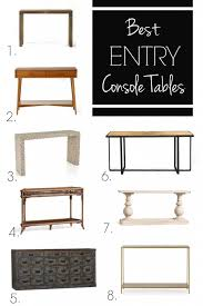 Entry Console Table Stylish Entry Console Tables Thewhitebuffalostylingco Interesting