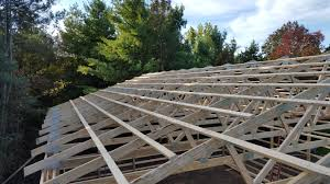 Gambrel Pole Barn by Pole Barn Roof Framing Popular Roof 2017