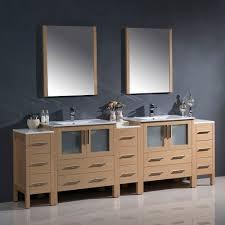 Oak Bathroom Vanity Cabinets by Contemporary 96 Inch Dark Espresso Double Bathroom Vanity Set With