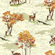 lush deer in cream moda uptown erin michael paint by numbers