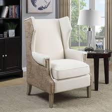 dining room comfortable wingback dining chair for modern dining