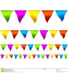 Mexican Party Flags Colorful Flags Clipart Clipground