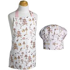 amazon com now designs kids apron and chef hat set cakes home