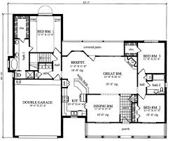 plan42 traditional style house plan 3 beds 2 00 baths 1821 sq ft plan