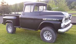 Classic Chevrolet 4x4 Trucks - 300 327 equipped napco 4 4 1959 chevrolet apache 31 project