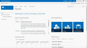 creating a sharepoint intranet homepage pythagoras