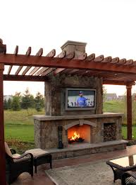 Outdoor Fire Place by Fire Ground One