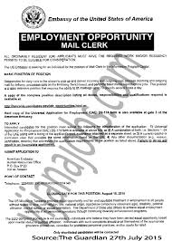 Office Clerk Job Description For Resume by Processing Clerk Cover Letter
